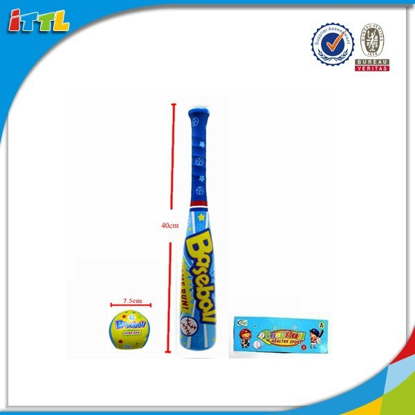 Soft game stuffed ball with baseball bat toys for kids