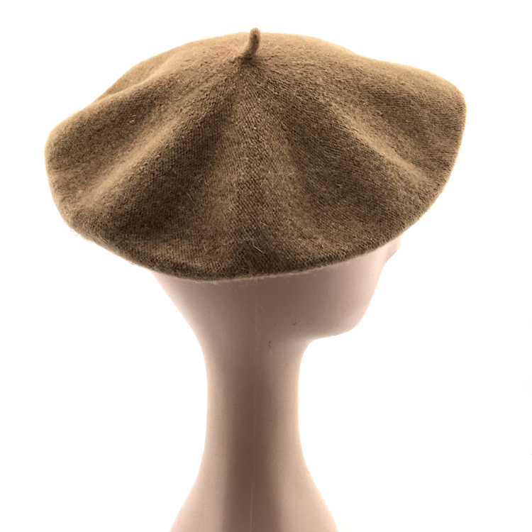 ab5c1174569cc custom solid color wool octagonal beret cap custom cheap french berets for  sale