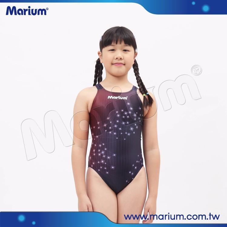 d0bf58a2b صغيرة المألوف الفتيات الصغيرات ملابس السباحة الاطفال الرياضية ملابس السباحة