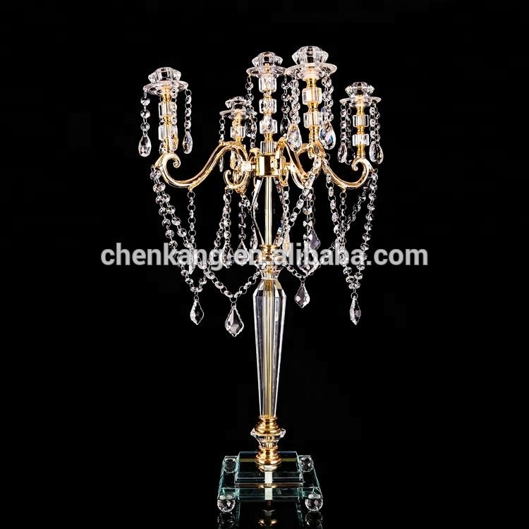 new 2018 wedding center pieces for tables wholesale candelabras with 5 arms