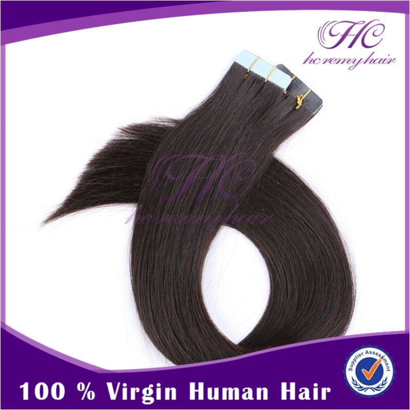 Bleachable Remy 100 Human Hair Weave 100g European Hand Tied Micro Skin Weft