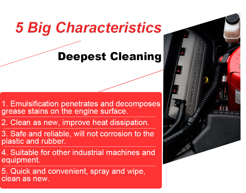 China Car Care Accessories New Safe Formula Waterless Engine Degreaser  Spray Super Clean Heavy Duty Engine - Buy Degreaser,Heavy Duty  Engine,Engine