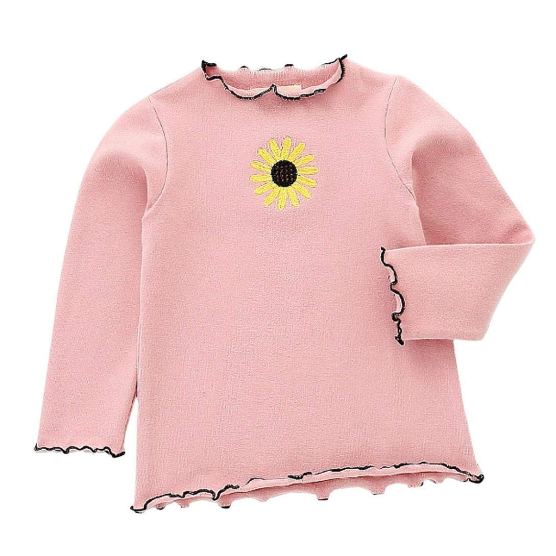 AmyDong Baby Girls Boys Clothes Long Sleeve Soft Toddler Kids Tops T-Shirt Clothes