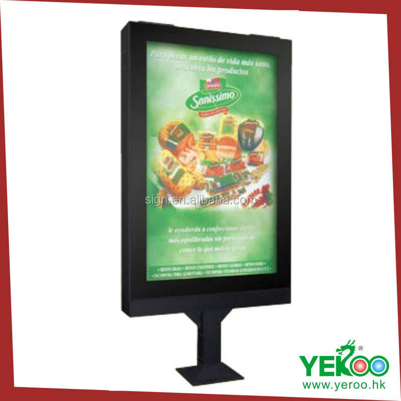 Outdoor Scrolling Led Light Box Display Advertising Display Light ...