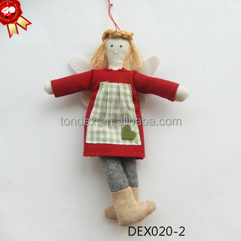 Hot selling christmas angel felt handmade christmas for Handmade christmas gifts to sell