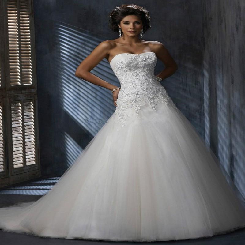 White Lace Sheath Wedding Dress 2015 Romantic Off Shoulder