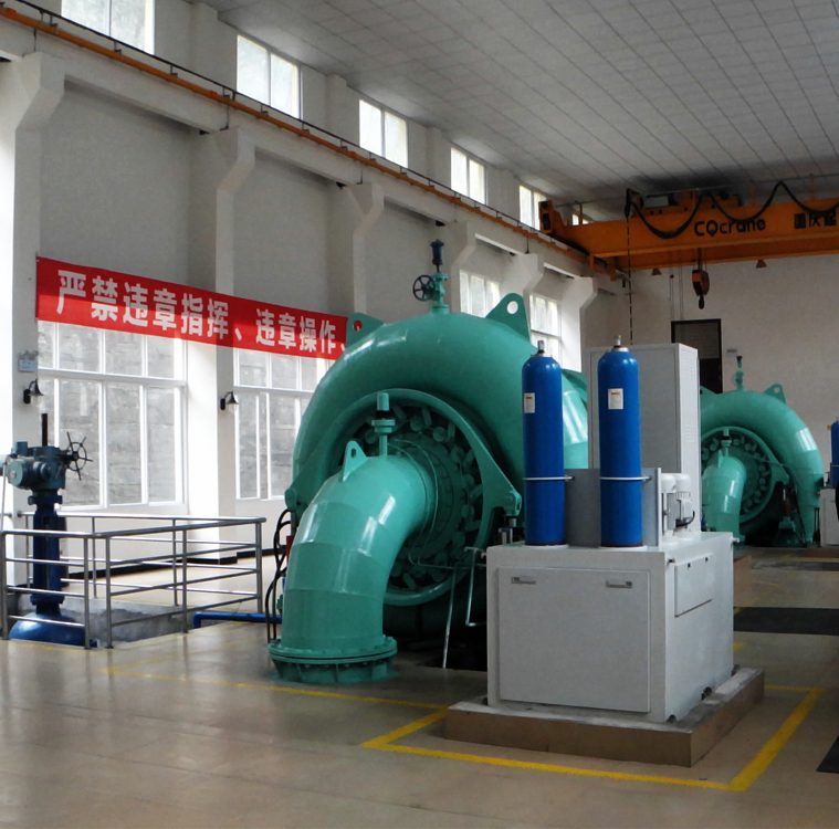 High Efficiency Grid Connection Automatic Control Transformer  Governor 1.5 megawatts Hydro Turbine  For Hydro Power Plant