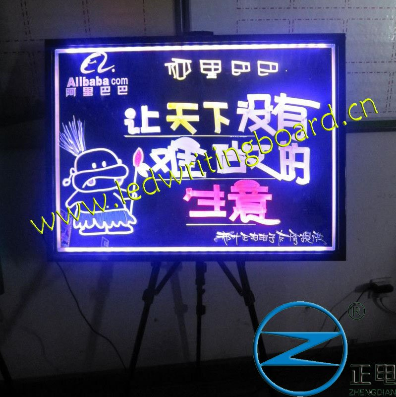 Alibaba hot sale neon advertising lighting display electronic sign price