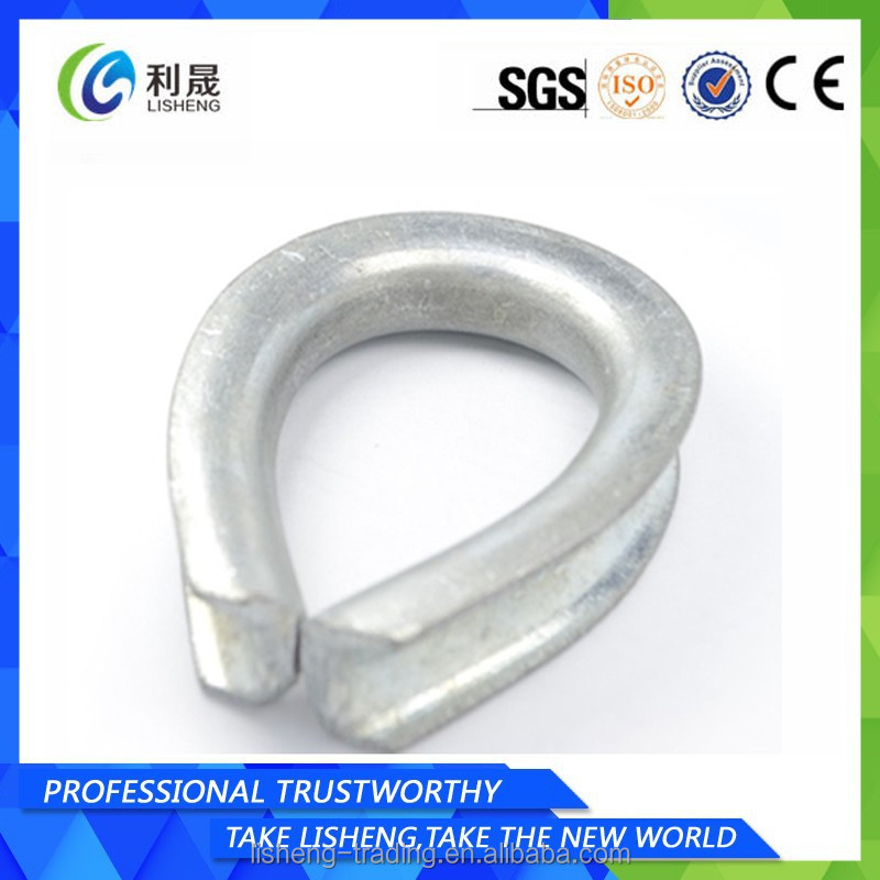 Bs464 Open Type Wire Rope Thimble Dimensions - Buy Bs464 Open Type ...