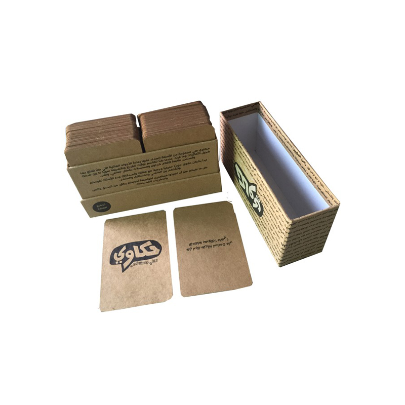 Custom Recycled Paper Card Game