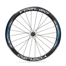 Ceramic Bearing Sapim Cx-Ray Spokes 700C Blue Carbon Clincher Yoeleo 38mm Alloy Wheels With Straight Pull Hubs