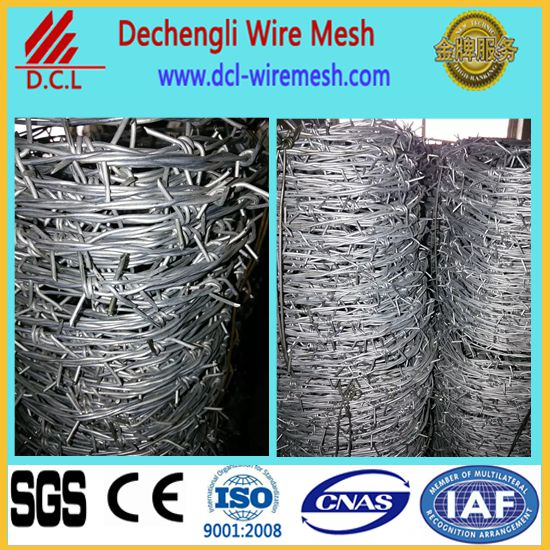 cheap barbed wire length per roll