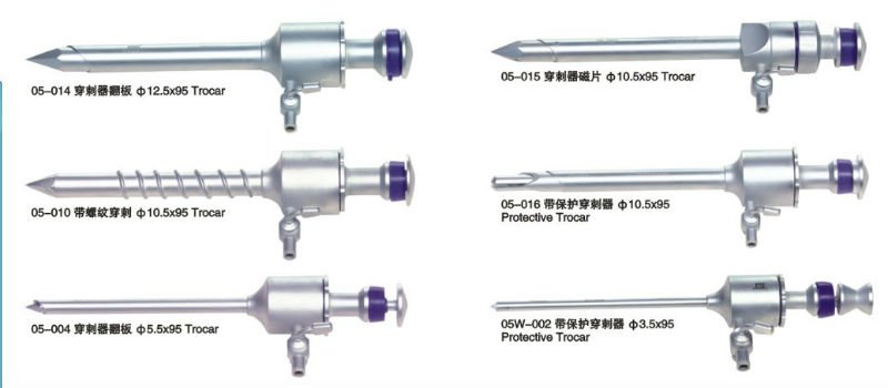 China Geyi CE Certificate Disposable Surgical Medical Laparoscopic ...