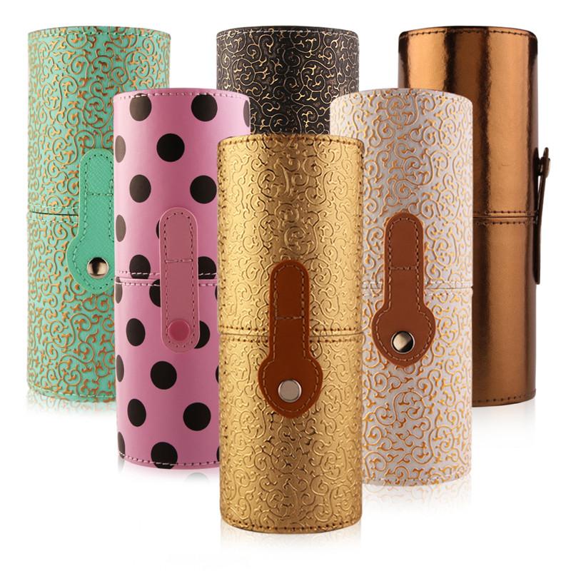 12pcs Professional Cosmetic Makeup Brush Set Beauty Powder Foundation Make Up Brushes Tool Kit + Holder Case Cup