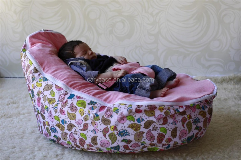Swell Pink Birds Design Baby Bean Bag Newborn Infant Sleeping Beanbag Sofa Chair Snuggle Pod Buy Baby Chair Beanbag Seat Bean Bag Sofa Bed Product On Gmtry Best Dining Table And Chair Ideas Images Gmtryco