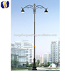 China supplier 10 meters galvanized ornamental lamp post