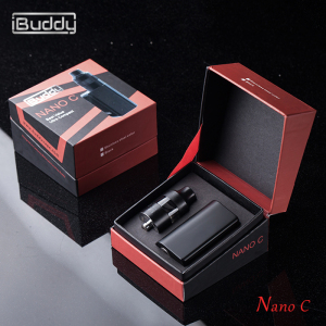 Hot sell vape Nano C 900mAh battery 2.0ml atomizer e-cig 60w transformer box mod