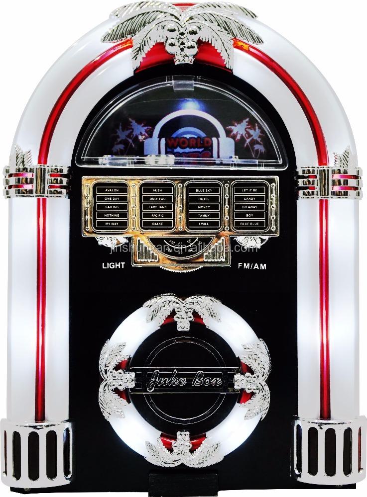 Mini Jukebox AM/FM AUX funcitons - Home CD Players - ANKUX