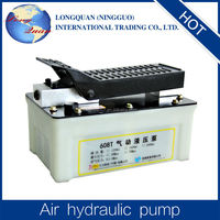 The Air Hydraulic foot power Pumps with high pressure oil pipe