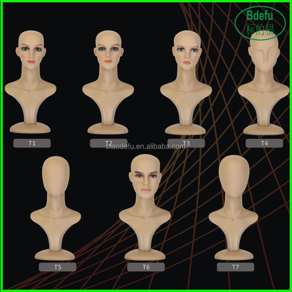 High Quality mannequin head/plastic mannequin head/female mannequin head