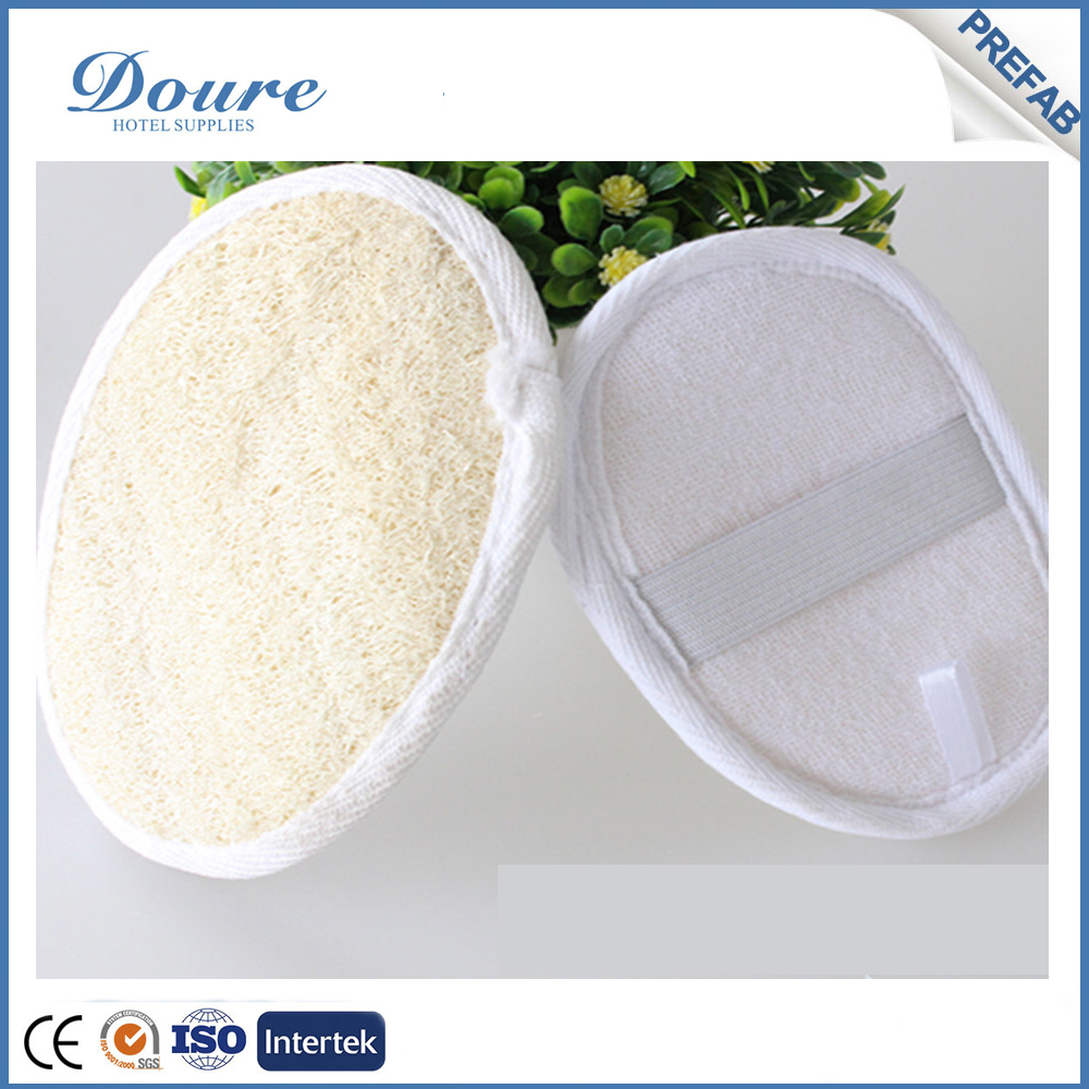 hotel supplies disposable loofah sponge shower mitt