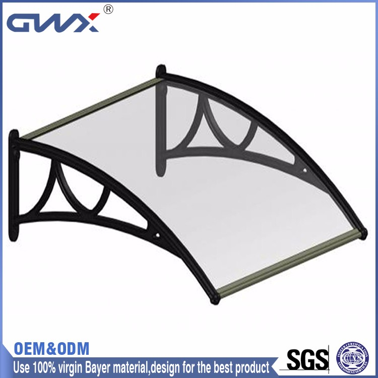 Exterior/Interior Cladding Walls PC Plastic Awnings