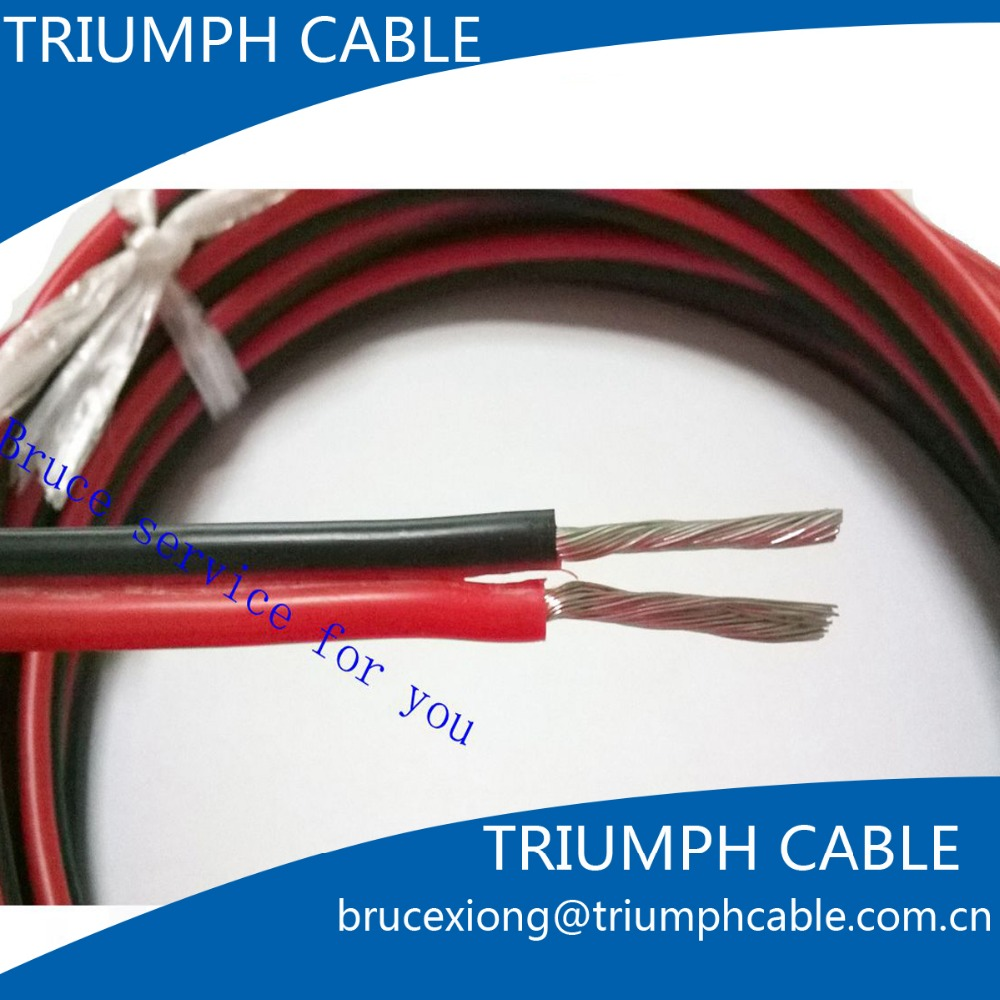 Led Electric Wire Cable Red Black High Quality 7 Colors 1m Gauge 14 Awg Silicone Rubber Stranded Wire Electric Cable