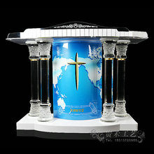GUIHEYUN 2017 church pulpit cheap church podium glass craft lectern superior Modern
