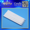 paraffin wax unscented white plain stick candle