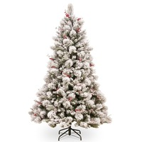 2017 Wholesale Indoor Xmas Tree Hanging Red Christmas Village