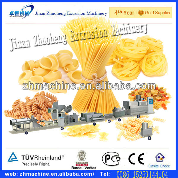 Electric equipments Italian pasta macaroni production line