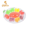 Lovely duck shape fruit mini cartoon pudding jelly tube candy jar