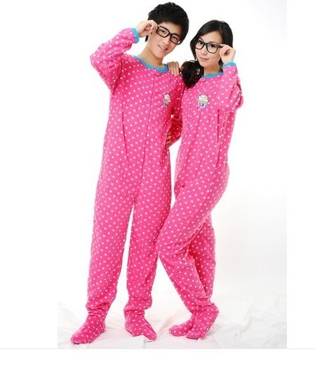 Share adult footed sleepwear