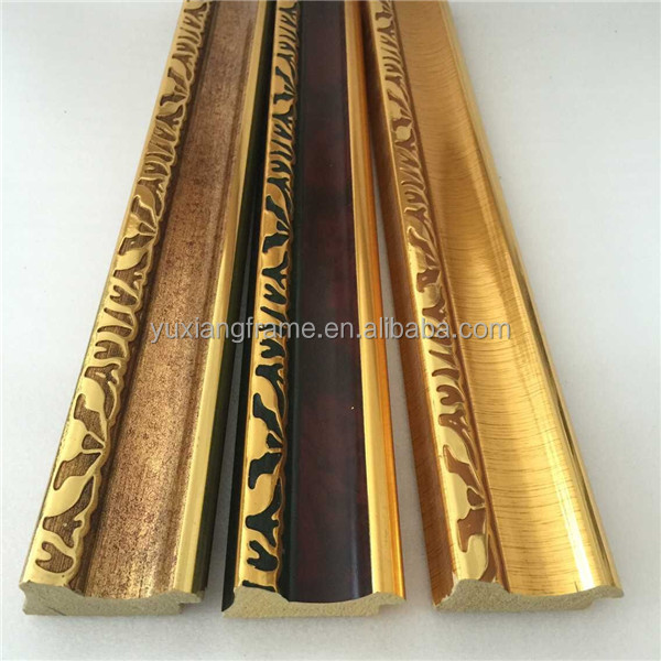 Polystyrene Ps Plastic Antique Color Framing Molding Profiles Lines