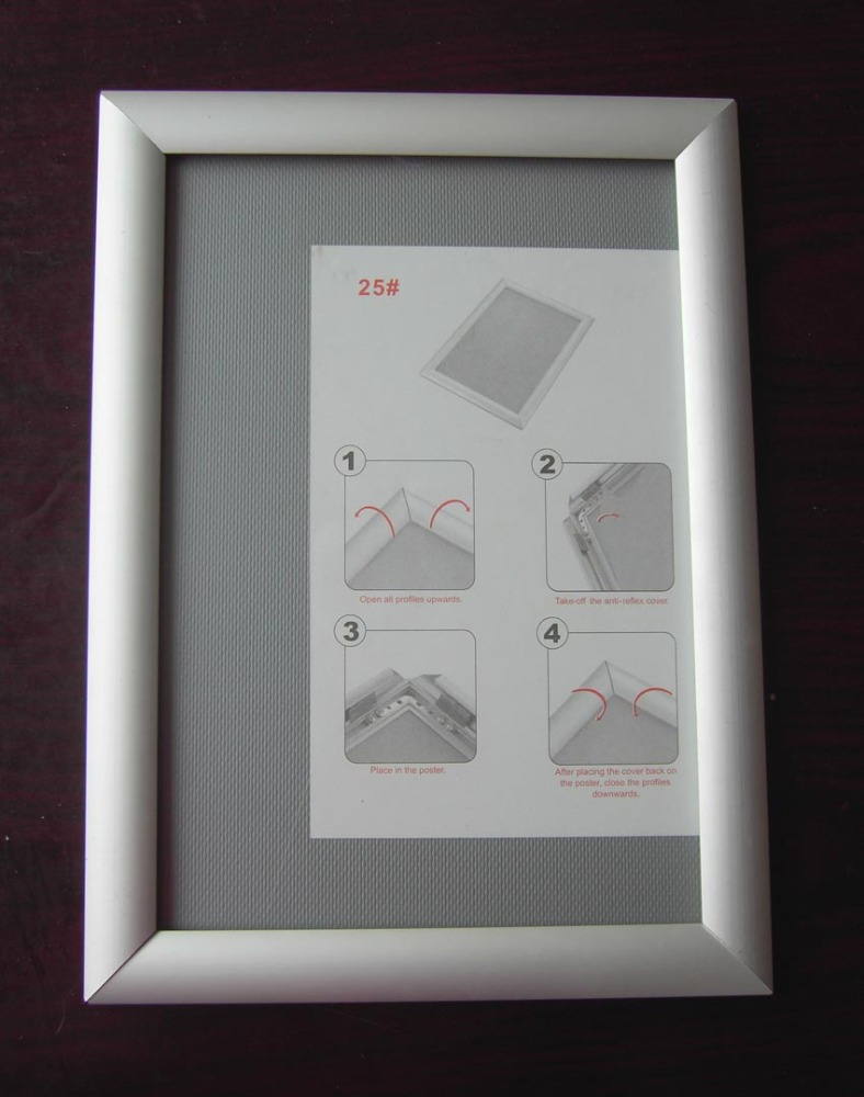 Aluminum Frame Wall : Wholesale a aluminum wall picture frame in round