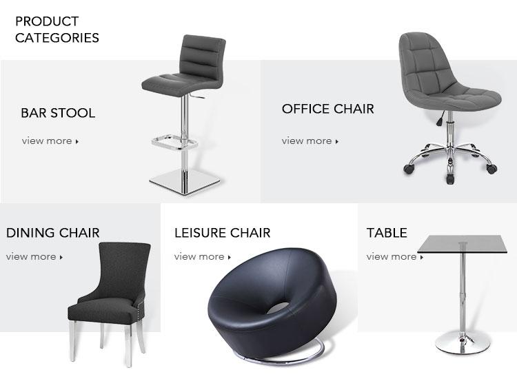 Ungu pu kualitas tinggi bar stool dengan logam bingkai krom bar stool