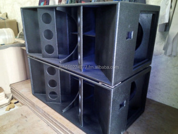 Dual 18 Bass Horn Loaded Empty Cabinet Buy Dual 18 Bass