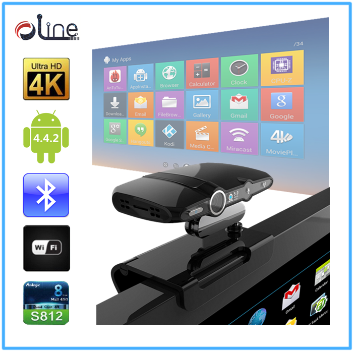 Factory direct sale Quad Core cpu HD 2.0 MP Camera free to air set top box hd23 Android tv box