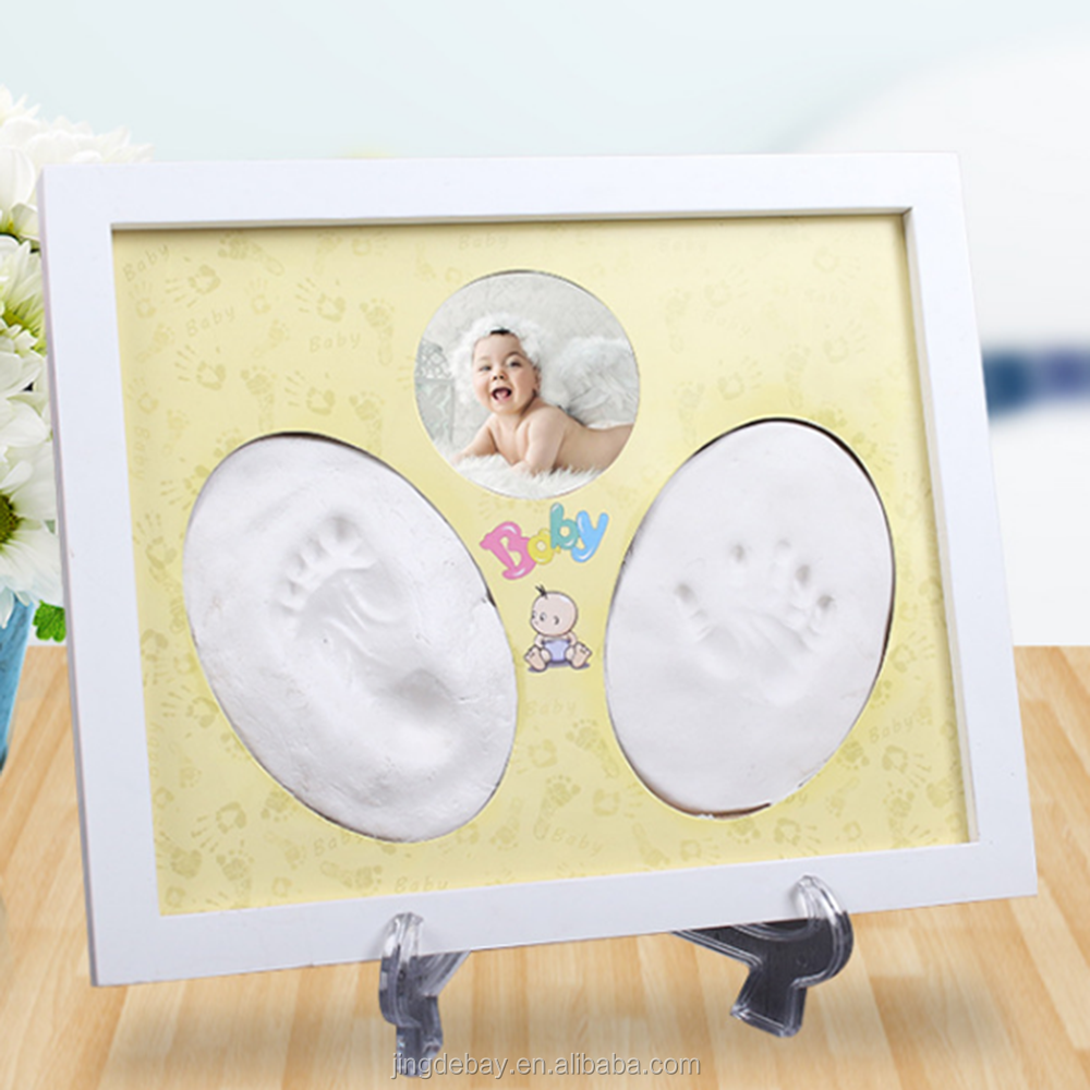 2018 Hotsale Handprint and Footprint Photo Frame for BabyBoy and Girl