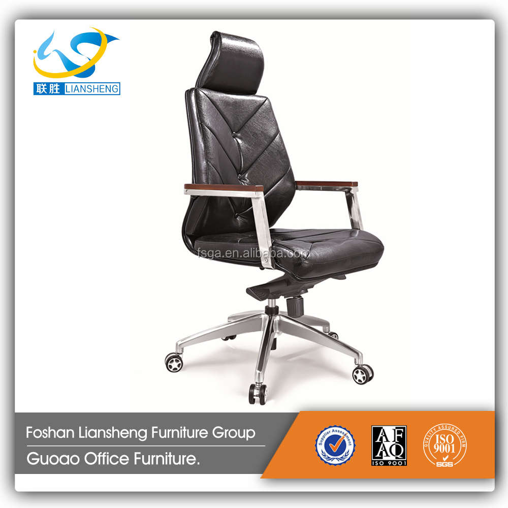 2017 Hot Bauhaus Leather Chair Office Locking Wheel