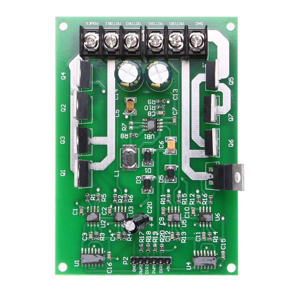 Cheap Mosfet Driver Circuit Diagram Find L298n H Bridge Free Download Wiring Diagrams Pictures Get Quotations Alloet Dual Motor Module Board Dc Irf3205 3 36v 15a