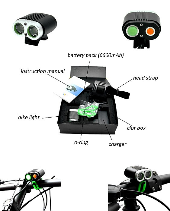 SG-2200 BATTERY for Bicycle Light