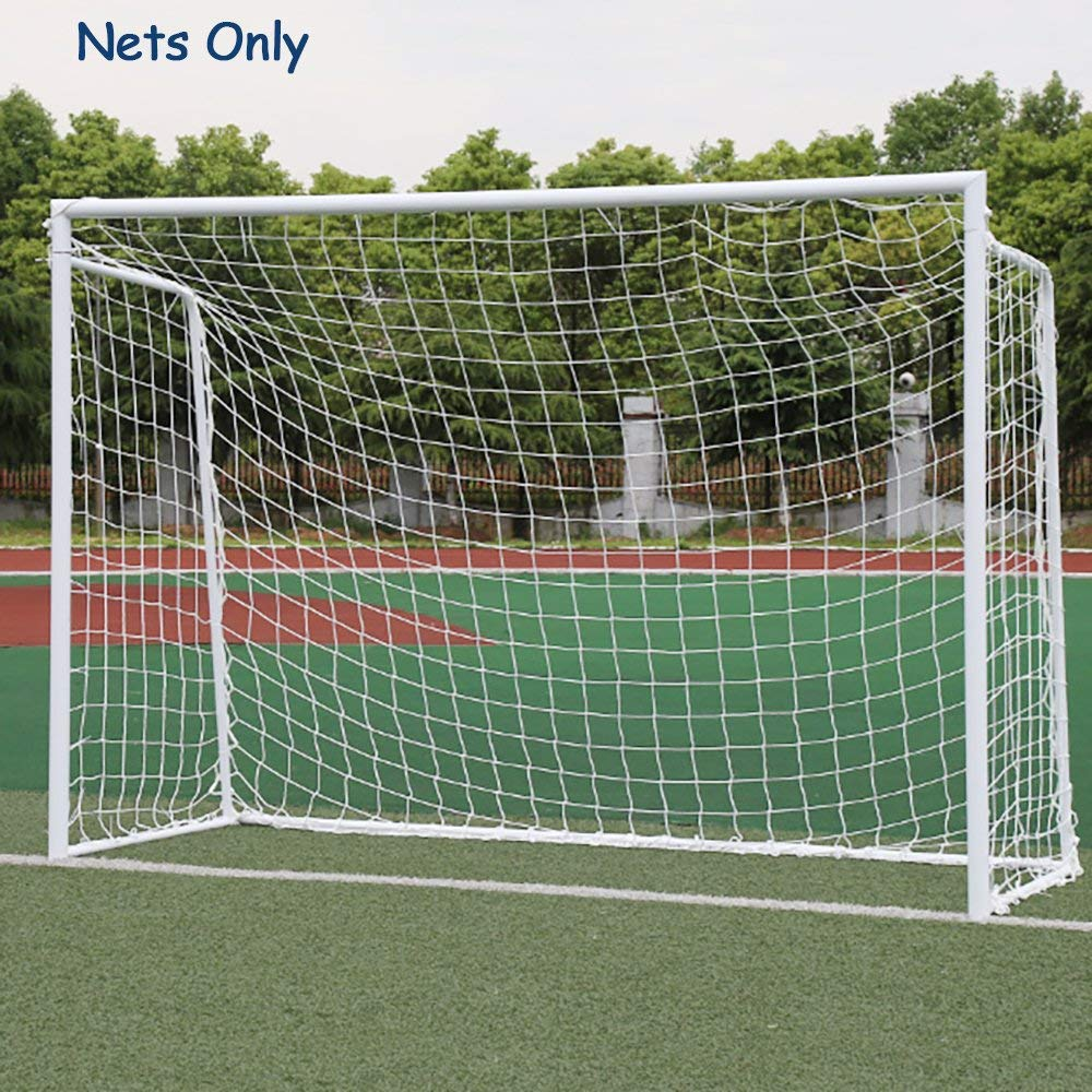 e80a8c883 Get Quotations · EFFT Life Soccer Goal Net, Sports Replacement Soccer Goal  Nets Football Polyethylene Training Post Nets