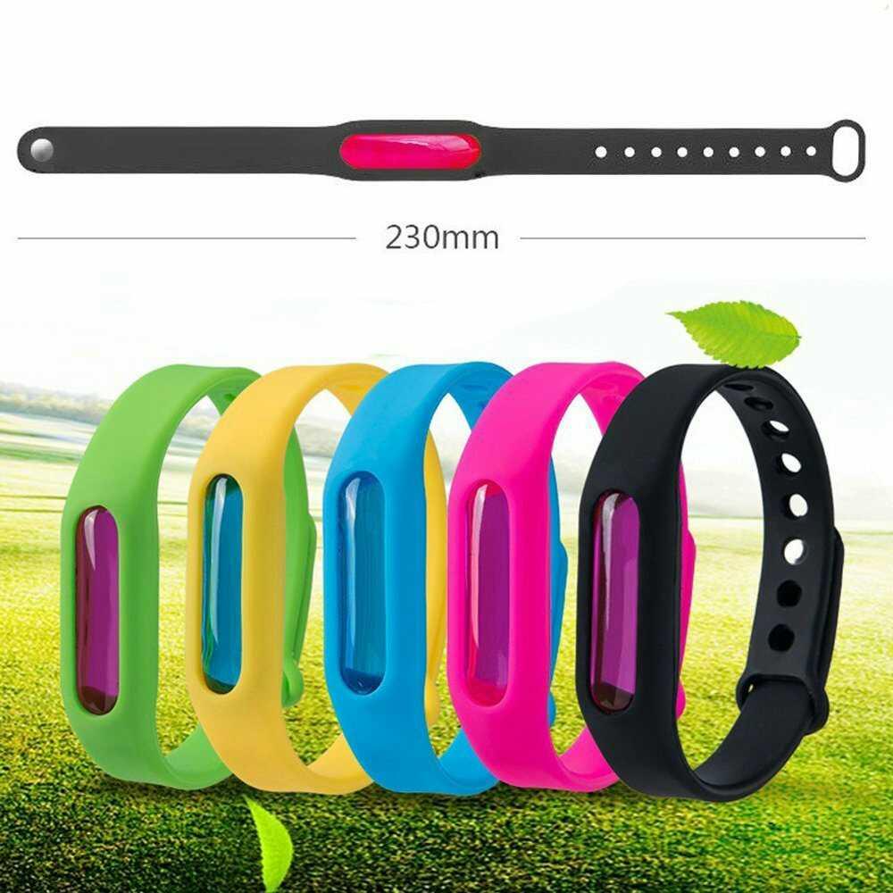 Силиконовый браслет для отпугивания насекомых Wristband в Кировограде