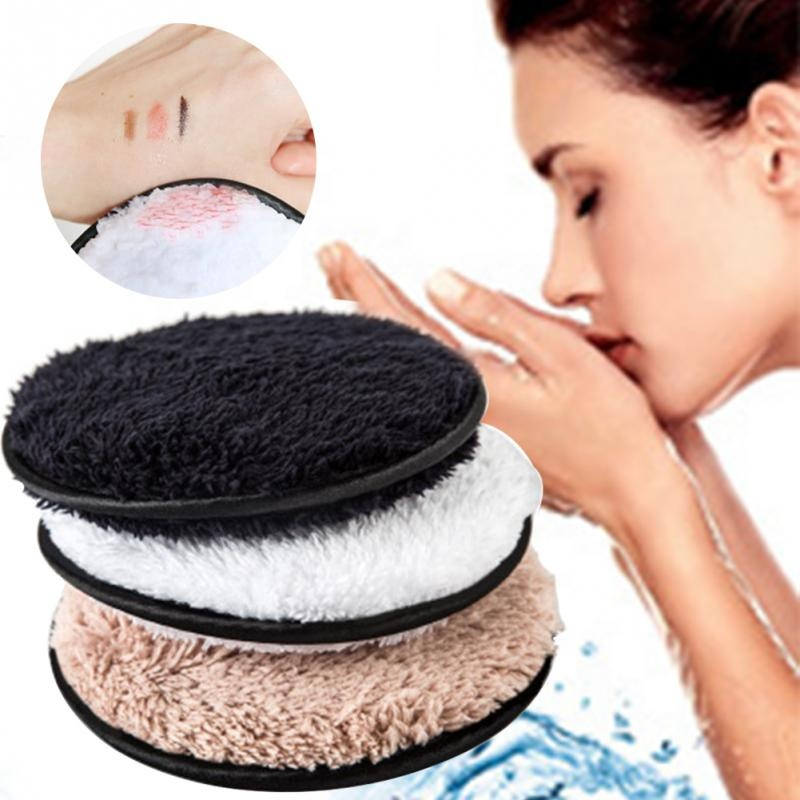 Groothandel Private Label Microfiber Wasbare Facial Make-Up Remover Handdoek Pad