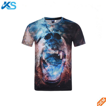 bbd0790cfed7 Wholesale Custom Dye Sublimation Printing Men's T Shirts 100% Polyester  Digital Sublimation T Shirt