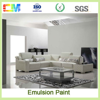 Interior Wall Decoration Painting Materials Asian Anti Dust Paint Waterproof  Emulsion Wall Paint