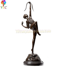 B-6 Bronze statues wholesale bronze tiffany base tiffany sculpture china sculpture