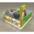 Myshine customize shopping mall retail food station 3d bubble tea kiosk design
