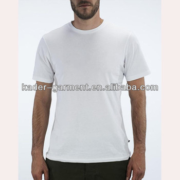 Blank white t shirt for man t shirt china supplier blank for Dri fit t shirts manufacturer